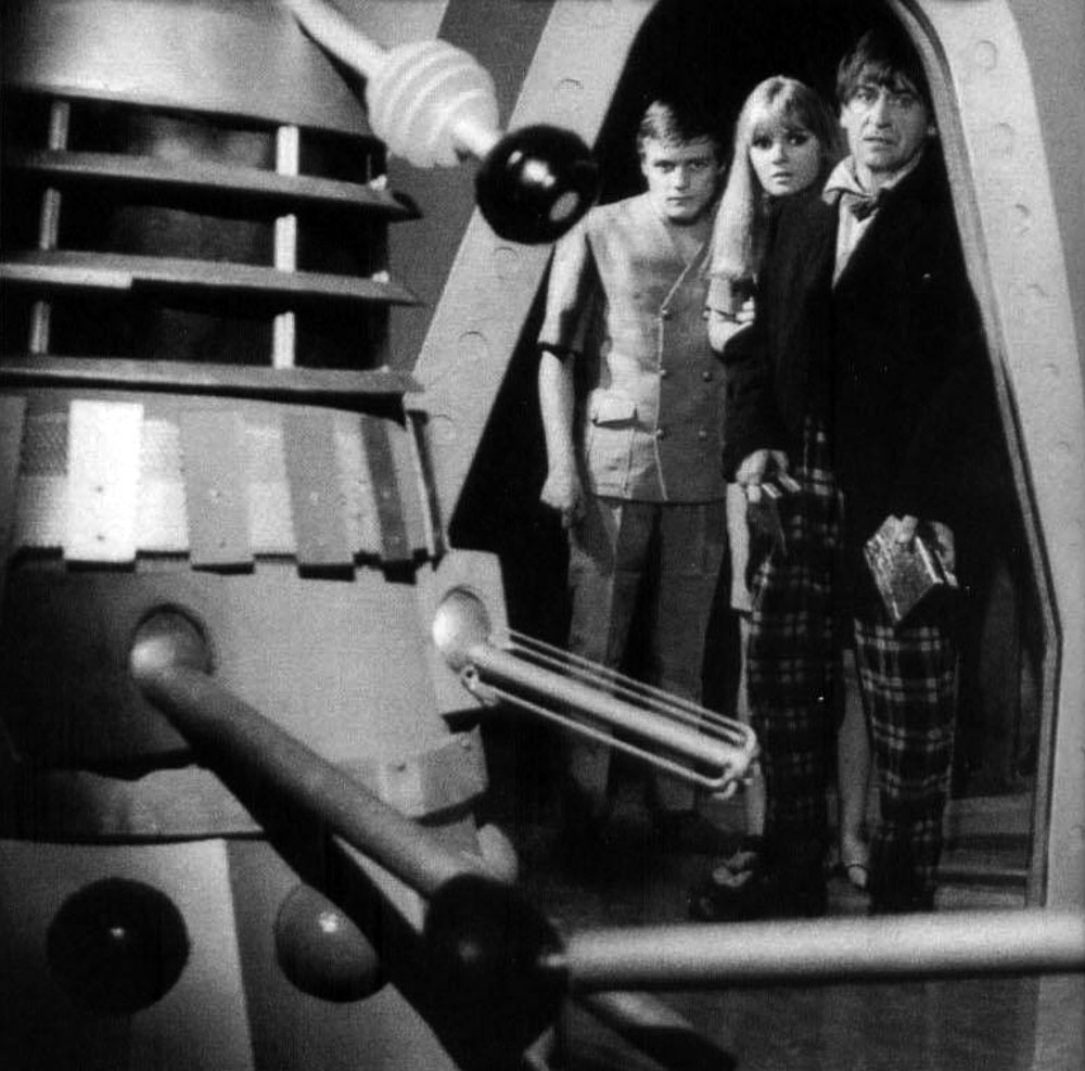 "The newly regenerated Second Doctor in the First Doctor's clothing - ""Power Of The Daleks"" - 1966."