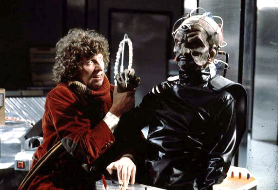 """Do I have the right?"", the Fourth Doctor debates whether to kill the Daleks for good, in ""Genesis Of The Daleks"" - 1975."